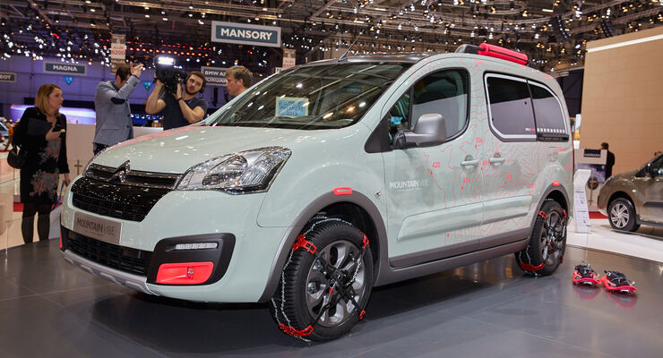 Citroen Berlingo Mountain Vibe Concept Genf