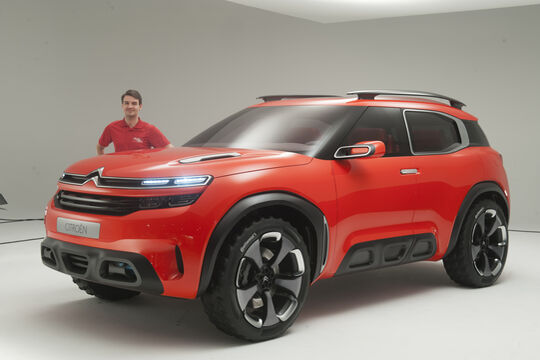 Citroen C4 Aircross Concept