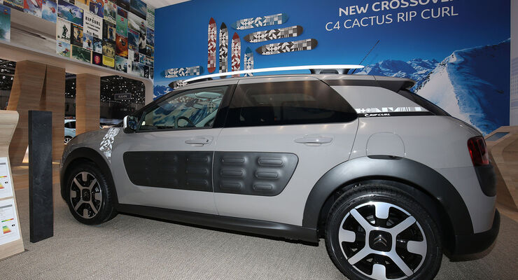 citroen c4 cactus rip curl sondermodell auto motor und sport. Black Bedroom Furniture Sets. Home Design Ideas