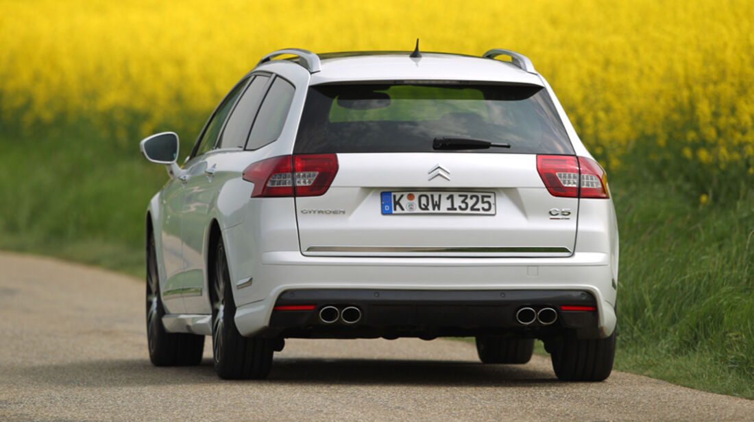 Citroen C5 HDi 200 Tourer by Carlsson, Rückansicht, Heck