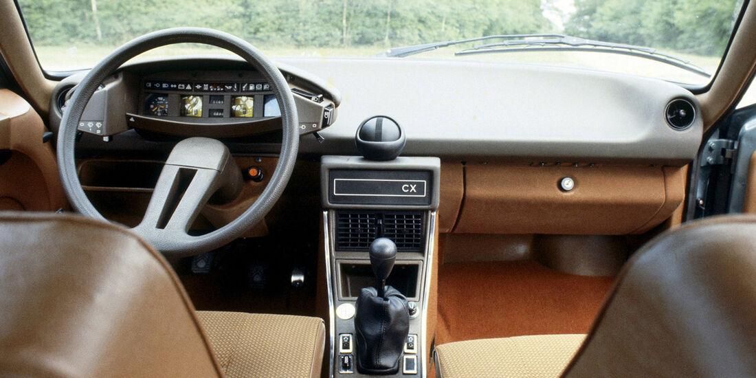 Citroen CX, Interieur