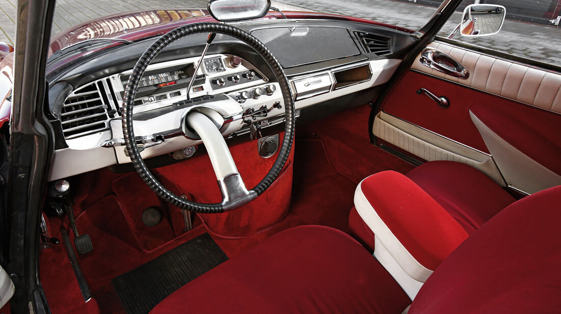 Citroen DS 21, Cockpit