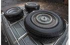 Citroen DS Tissier, Ersatzräder