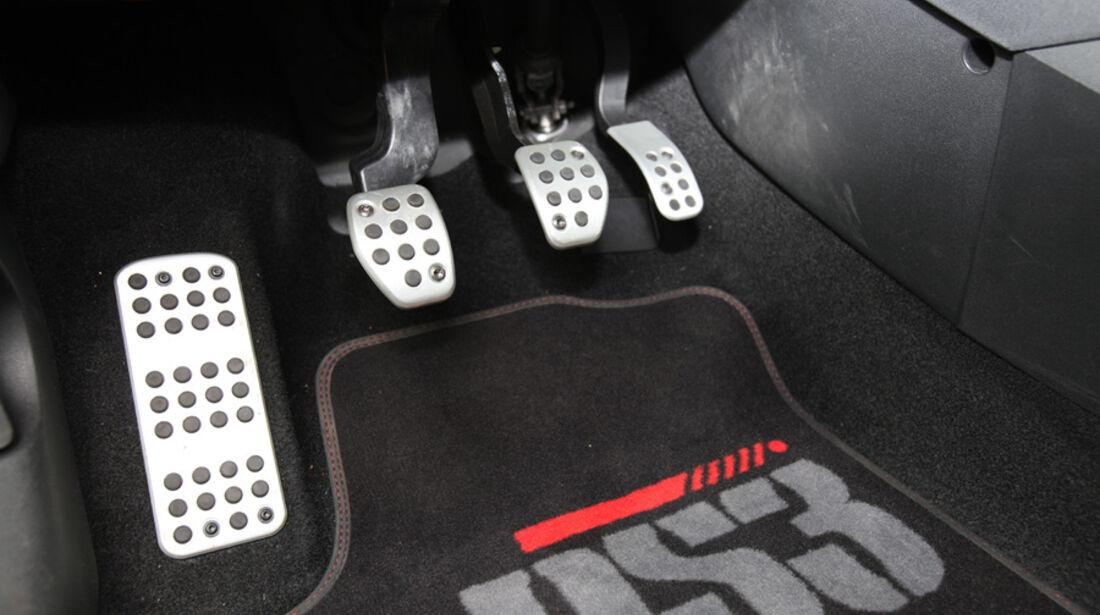 Citroen DS3 Racing, Pedale, Detail
