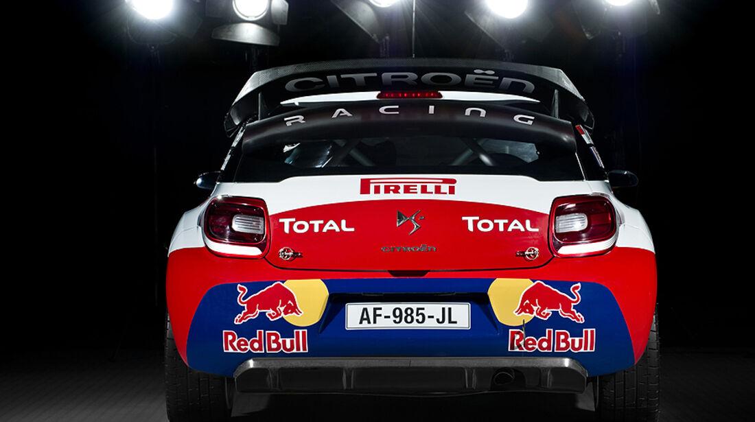 Citroen DS3 WRC Heck