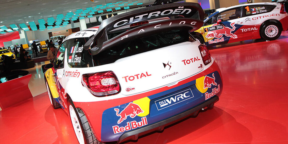 Citroen DS3 WRC Paris 2010