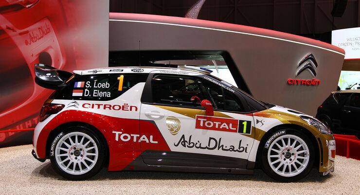 Citroen DS3 WRC Rallye Loeb