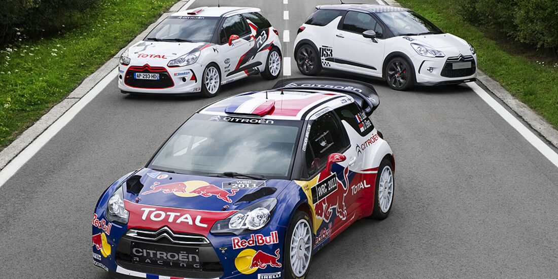 Citroen DS3 WRC und Serie