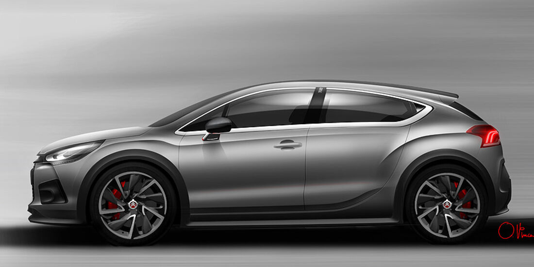 Citroen DS4 Racing Concept Genf 2012