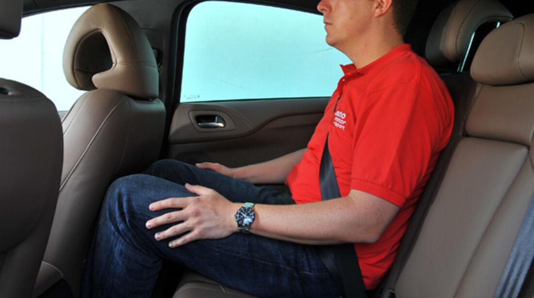 Citroen DS4, Rückbank, Rücksitze
