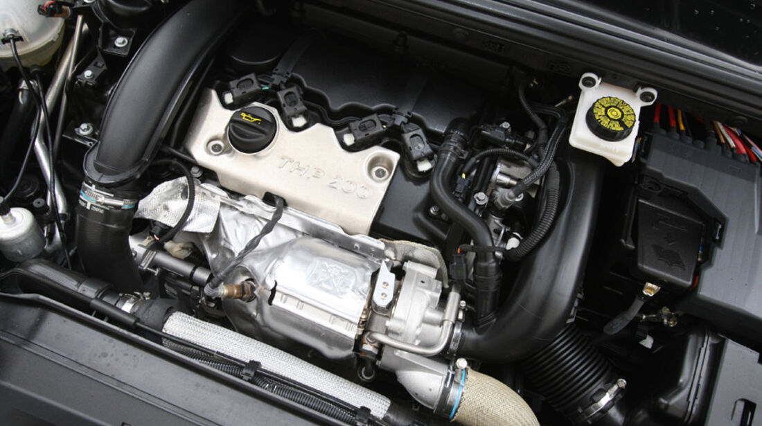 Citroen DS4 THP200, Motor, Motorblock