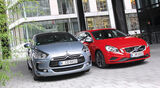 Citroen DS5 Hdi 165, Volvo V60 D3, Frontansicht