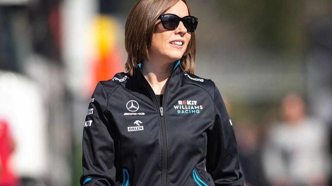 Claire Williams - Williams - Barcelona - F1-Test - 26. Februar 2019