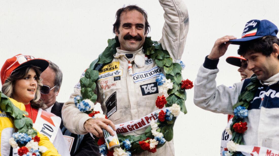 Clay Regazzoni - GP England 1979