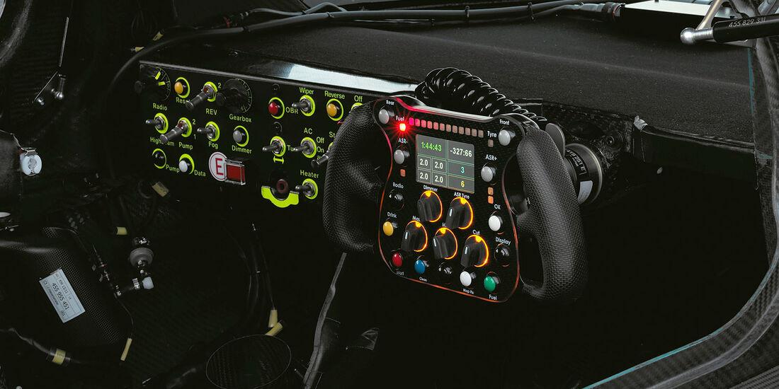 Cockpit, Detail, Audi R18 TDI