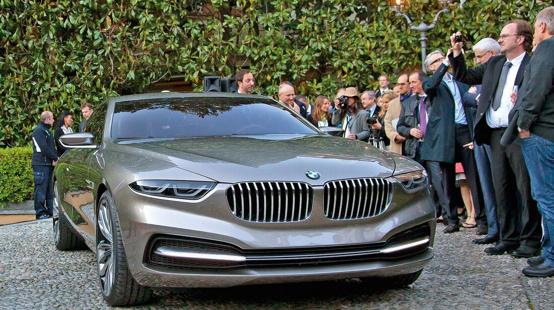 Concorso d'Eleganza Villa d'Este, BMW-Studie Pininfarina Gran Lusso Coupé