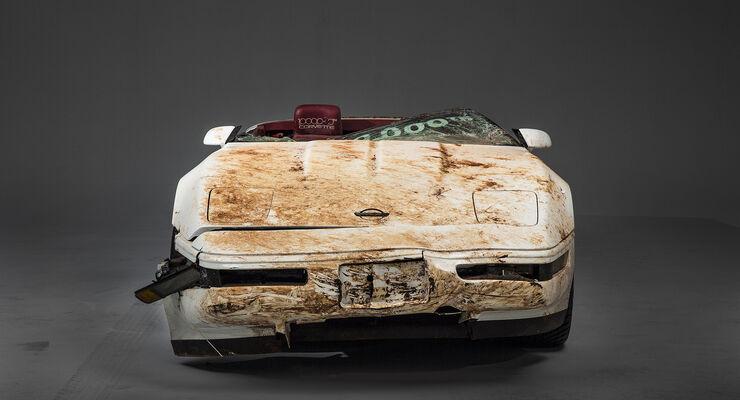 Corvette Sinkhole, Restauration, Museum