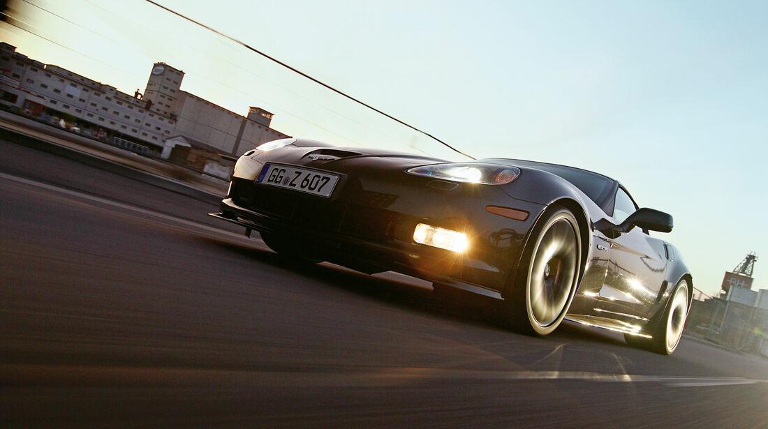 Corvette Z06, Frontansicht