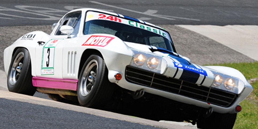 Corvette auf der Rennstrecke