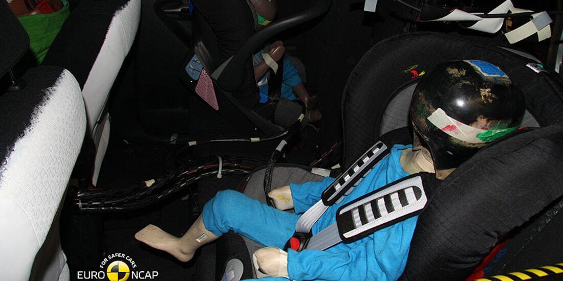 Crashtest Toyota Verso