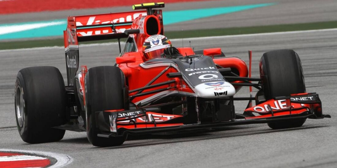 D'Ambrosio GP Malaysia 2011 Formel 1
