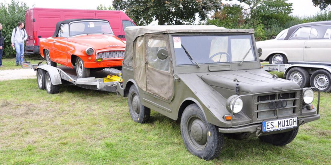 DKW Munga und Skoda