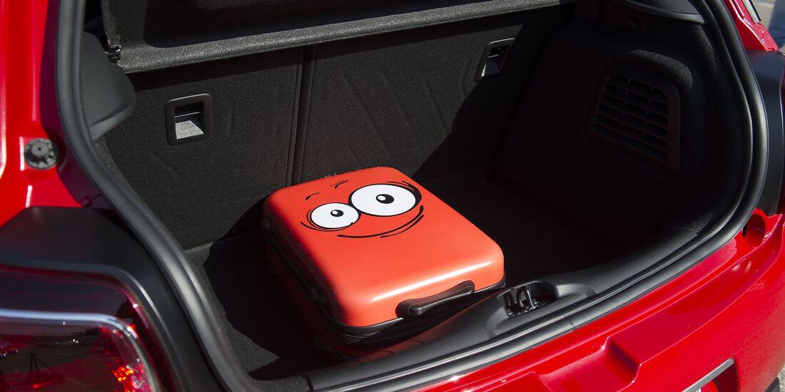 DS3 Performance Kofferraum mit Gepäckstück