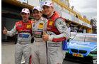 DTM 2012 Valencia, Qualifying, Augusto Farfus, Edoardo Mortara, Filipe Albuquerque