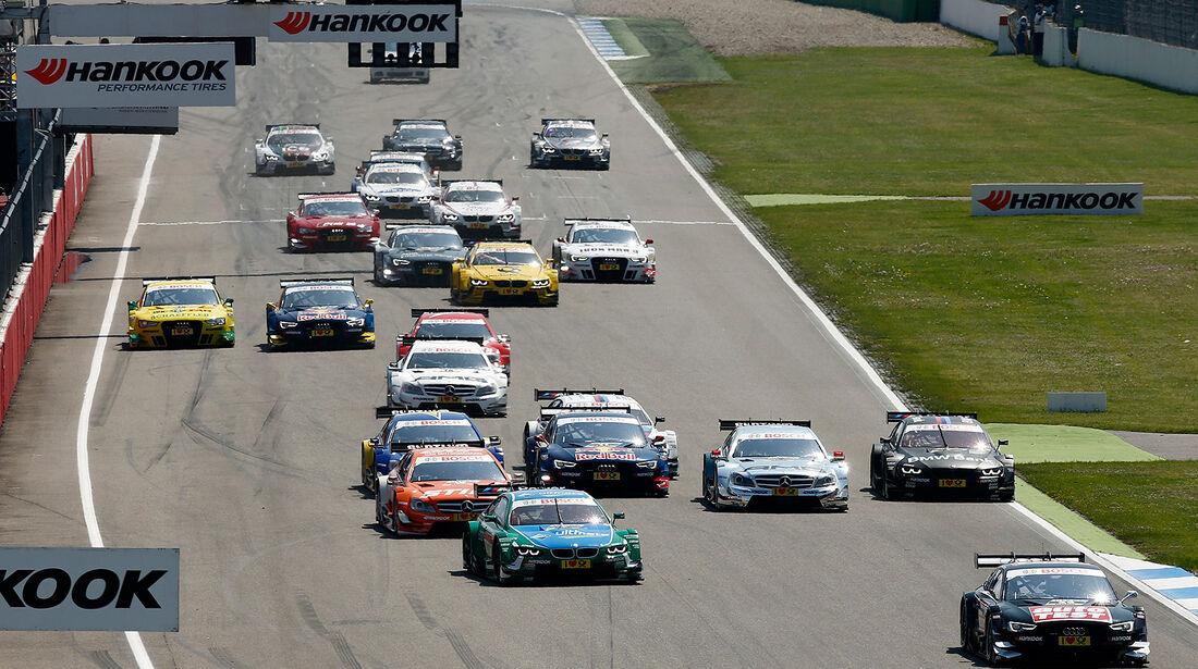 DTM 2013 Hockenheim 1, Rennen, Start