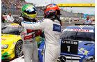 DTM 2013 Lausitzring Rennen, Rockenfeller, Paffett