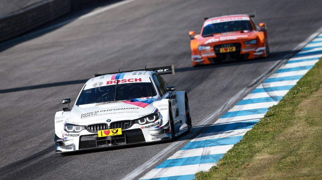 DTM 2015 - Testfahrten - Estoril - BMW M4 DTM - Audi RS5 DTM