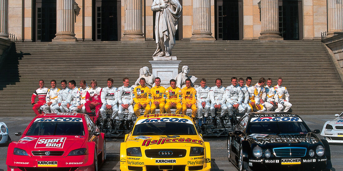DTM Audi 2000 Vorstellung