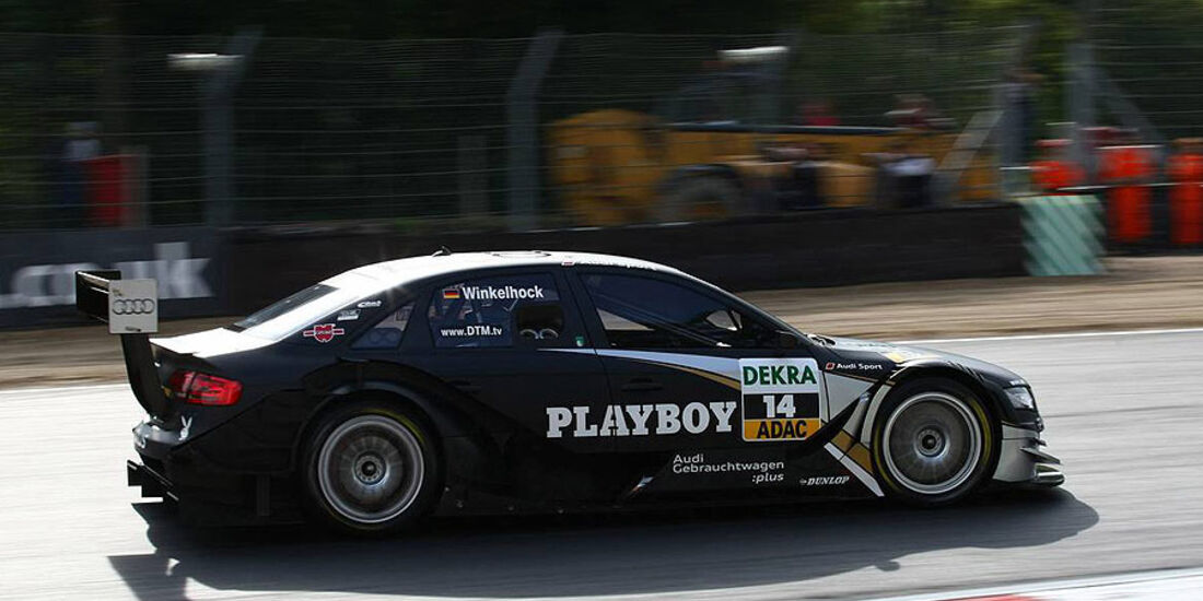 DTM, Brands Hatch, 2010, Audi A4, Winkelhock