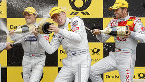 DTM, Brands Hatch, 2010, Siegerehrung