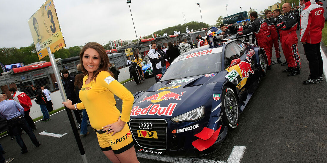 DTM Brands Hatch 2012, Rennen, Grid Girl