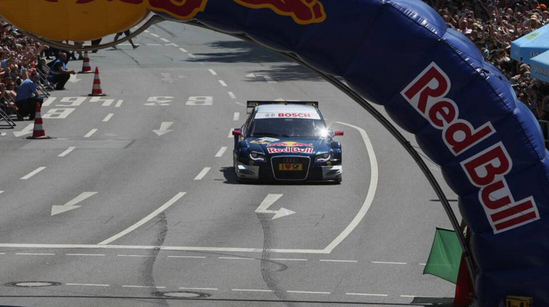 DTM-Fahrt bei Vettel-Party