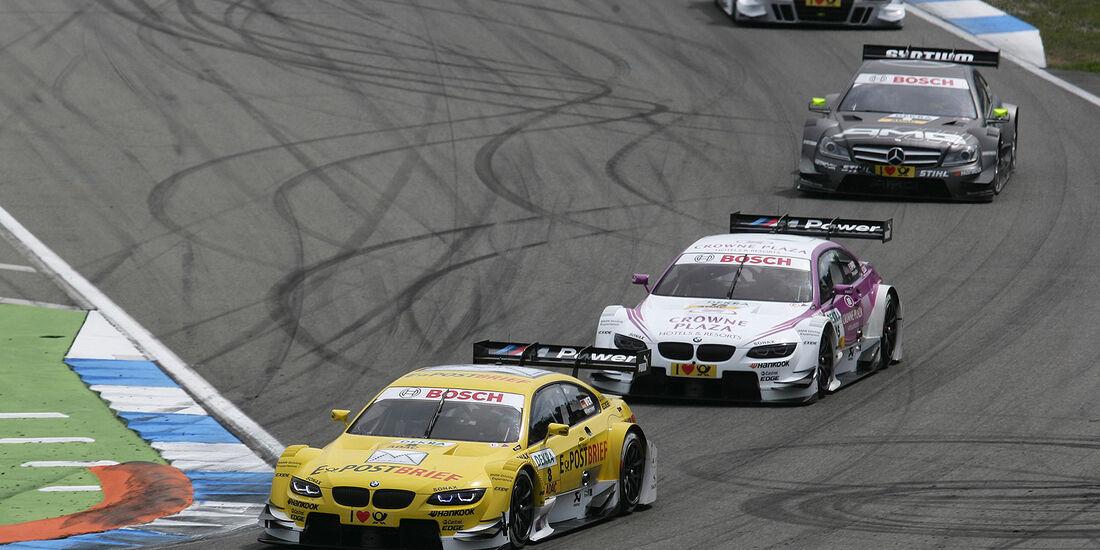 DTM Hockenheimring 2012, Rennen, Dirk Werner, BMW M3 DTM