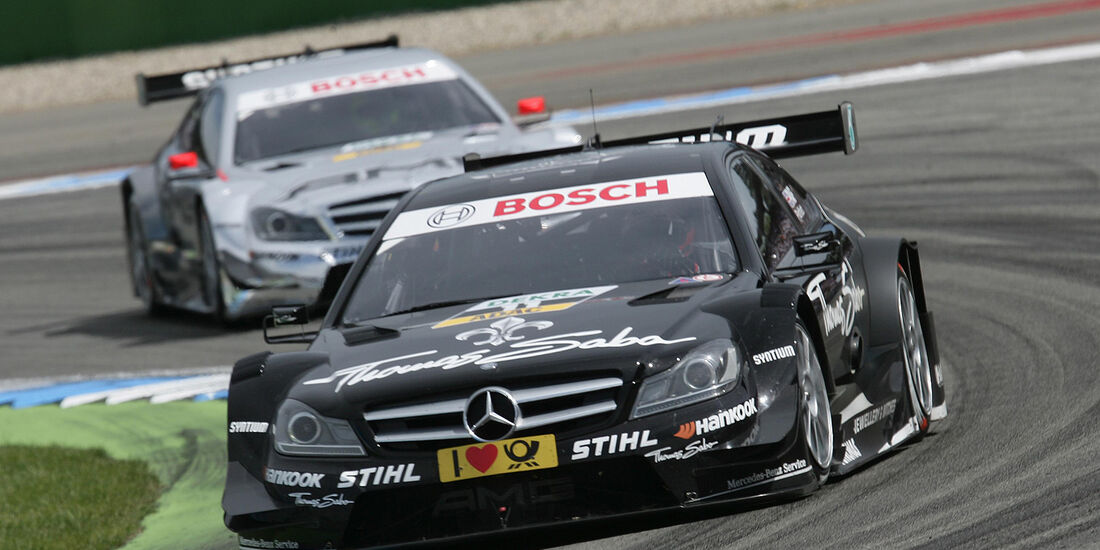 DTM Hockenheimring 2012, Rennen, Gary Paffett, Mercedes AMG C-Coupé