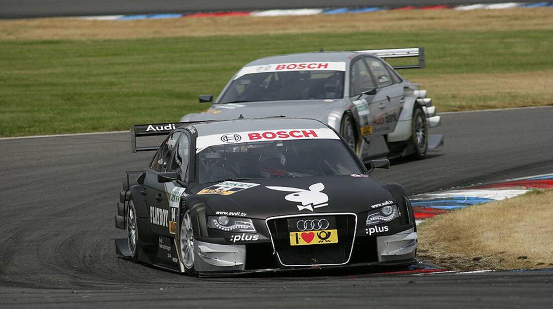 DTM Lausitzring 2010 Markus Winkelhock Audi A4