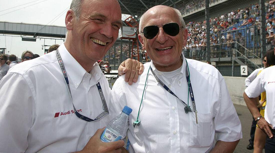 DTM Lausitzring 2010 Wolfgang Ullrich Thomas Betzler