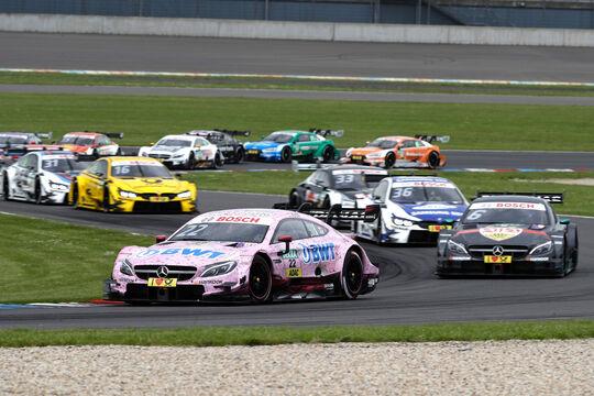 DTM - Lausitzring 2ß17 - Lucas Auer - Mercedes AMG C63 DTM
