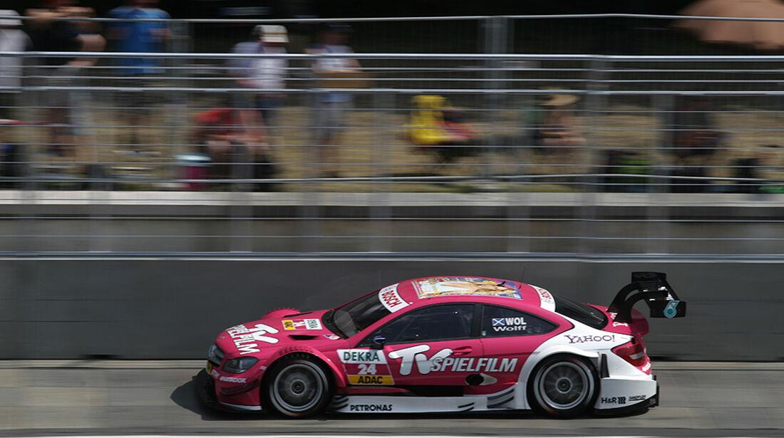 DTM Norisring 2012 Rennen, Susie Wolff