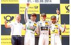 DTM - Österreich 2014 - Spielberg - Red Bull Ring - Podest - Wittmann - Farfus - Glock