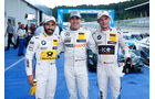 DTM - Österreich 2014 - Spielberg - Red Bull Ring - Qualifying - Robert Wickens - Timo Glock - Marco Wittmann