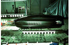 Dachboxentest, Neuman Whale 200, Aufpralltest
