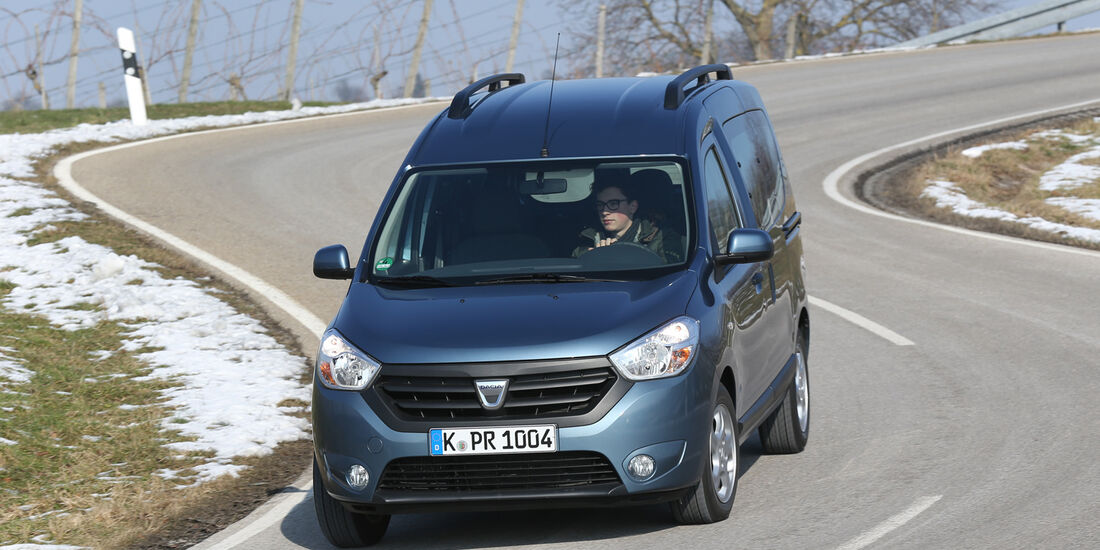 Dacia Dokker dCi 90, Frontansicht