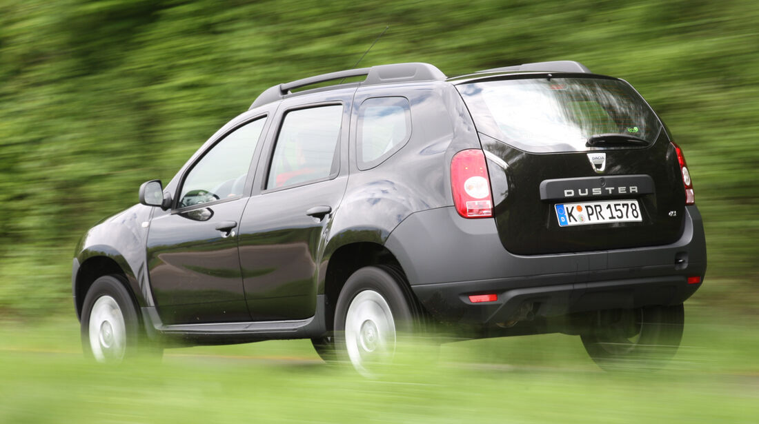 Dacia Duster, Heckansicht