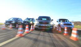 Dacia Duster, Mini Countryman, Skoda Yeti, Suzuki SX4 S-Cross