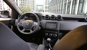 Dacia Duster Tce 125 4x4, Interieur