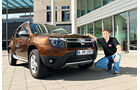 Dacia Duster dCi 110 4x4, Frontansicht, Jens Dralle